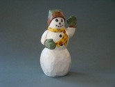Waving Snowman