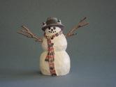 Chickadee Snowman